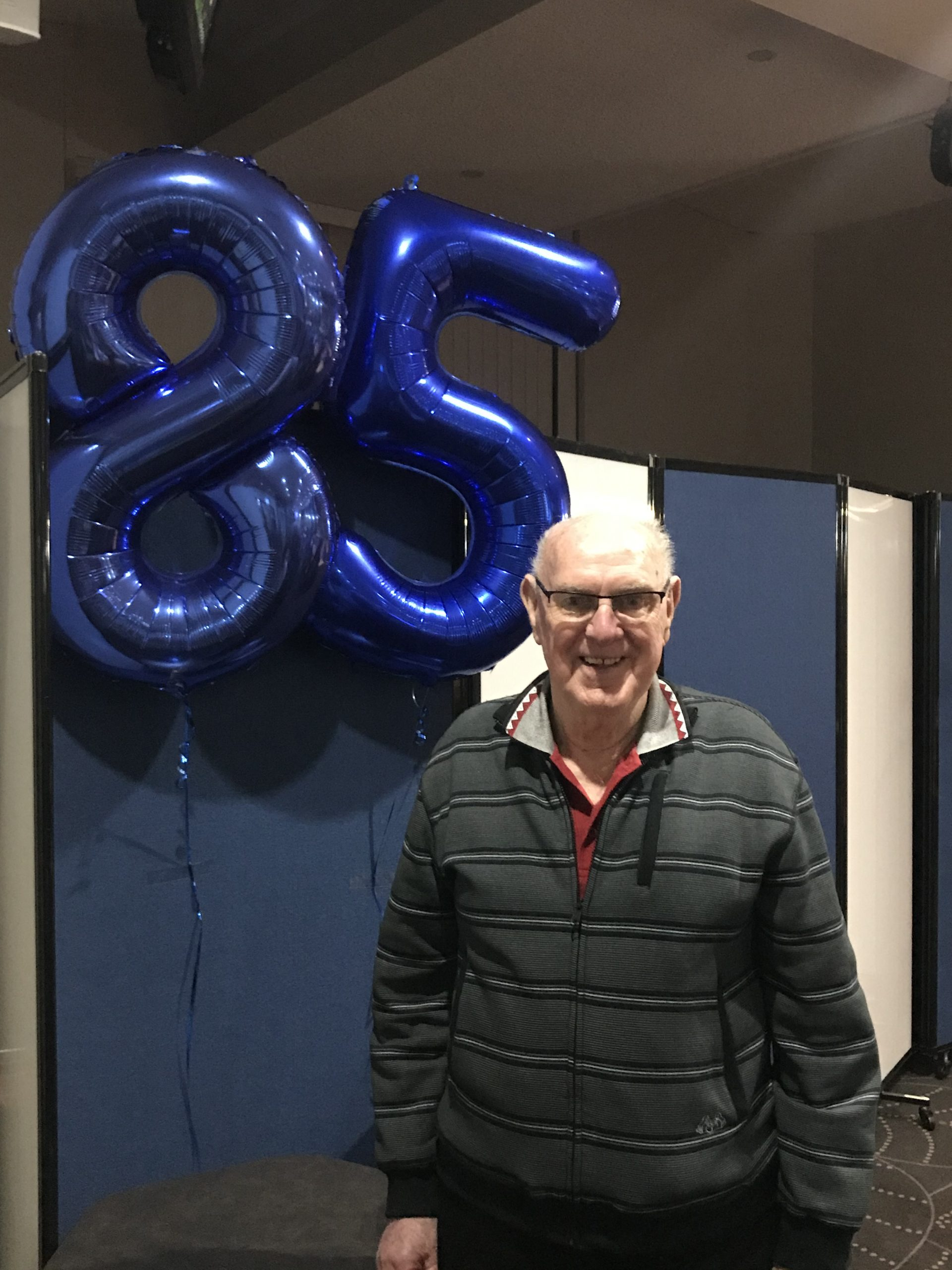 Happy 85th birthday Noel Toohey!