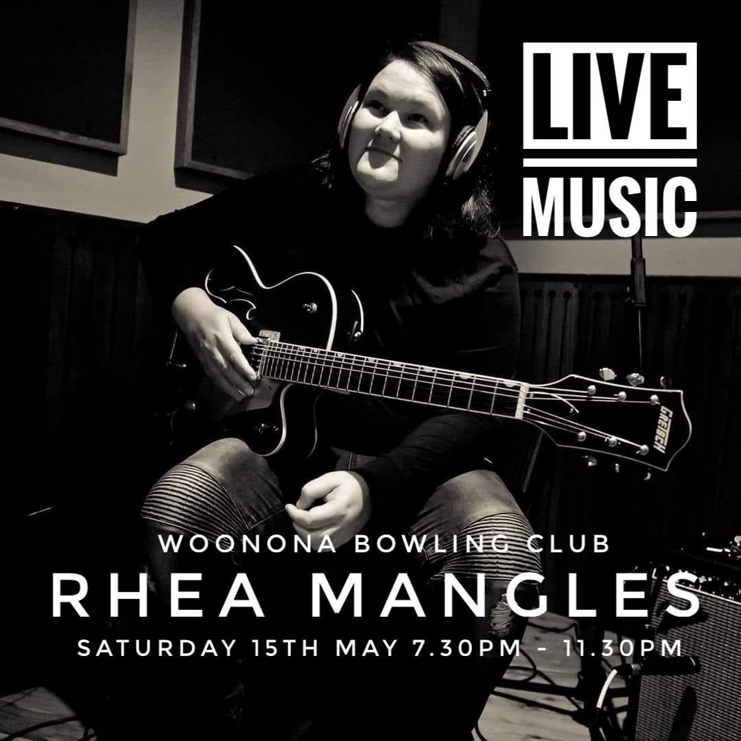 Rhea Mangles Live 15 May