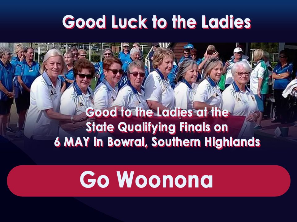Good Luck Ladies in the next game!